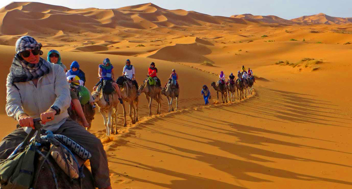7 days travel from marrakech